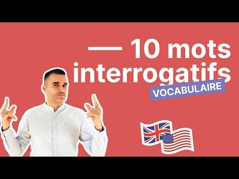 10 mots en WH- pour poser une question en anglais ? - Partie 2