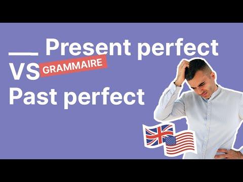 Quelle est la différence entre le Present Perfect et le Past Perfect en anglais