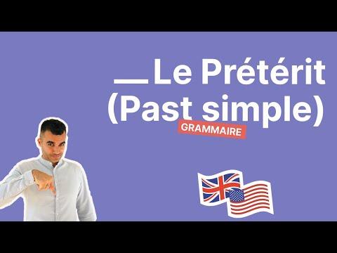 Le prétérit en anglais : comment conjuguer le past simple en 20 minutes