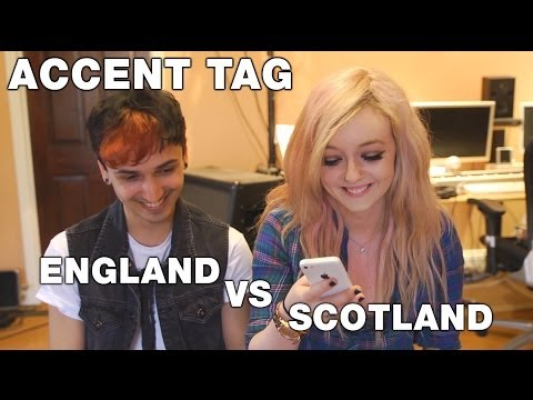 Accent Tag - Scotland VS England | EMZsings ft Andé