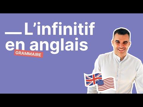 Quand employer l'infinitif en anglais : partie 1