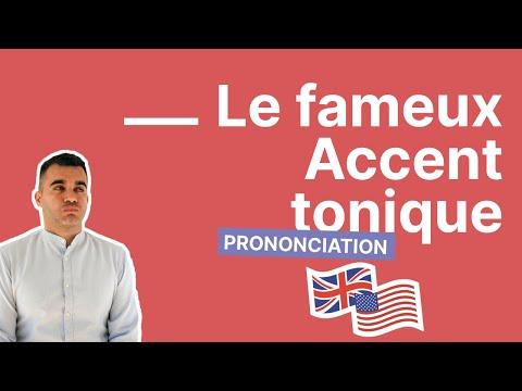 Tout ce qu'on ne vous a jamais dit sur l'accent tonique en anglais