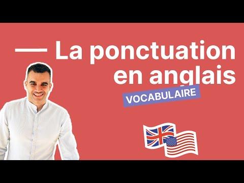 Tout ce que vous devez savoir sur la ponctuation en anglais - partie 3