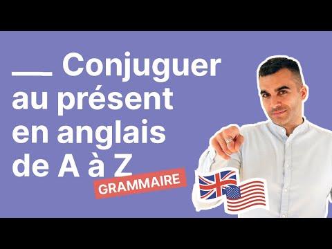 Conjuguer au présent en anglais la méthode de A à Z (exemples et exercice inclus)