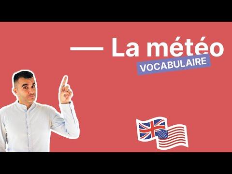 Comment parler du temps qu'il fait en anglais