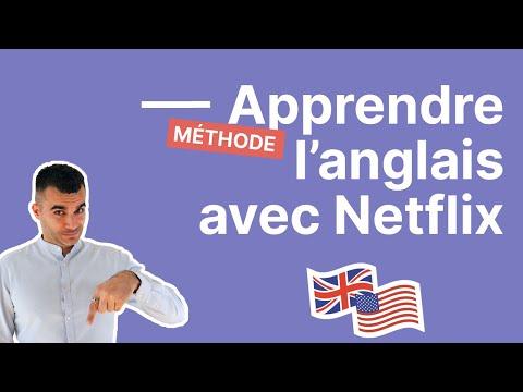 Comment apprendre l'anglais avec Netflix