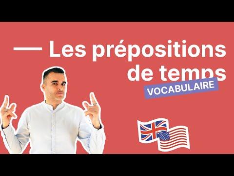 Comment utiliser les prépositions de temps : AT - ON - IN : partie 1