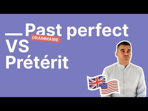 Past perfect et prétérit Stop aux confusions