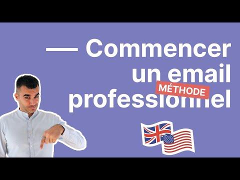 4 astuces pour bien commencer un email professionnel en anglais - partie 1