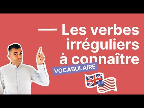 Les verbes irréguliers les plus importants en anglais #1 (awake - be - become - keep - hurt)