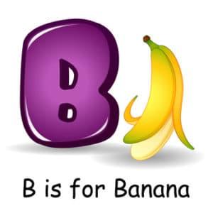 banane en anglais