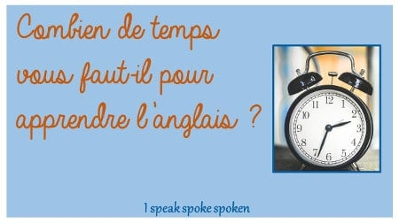 combien de temps pour apprendre l'anglais
