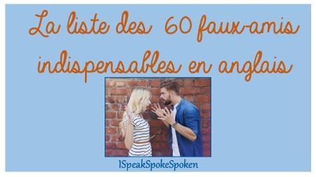 Faux amis anglais francais pdf995