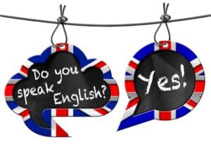 do you speak english? yes!