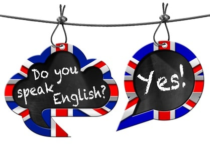 Tu parles anglais ? Oui !