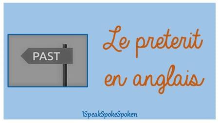 conjugaison du prétérit en anglais