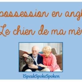 les pronoms possessifs et le génitif en anglais
