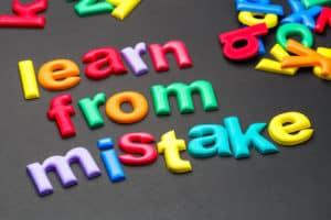 apprendre de ses erreurs