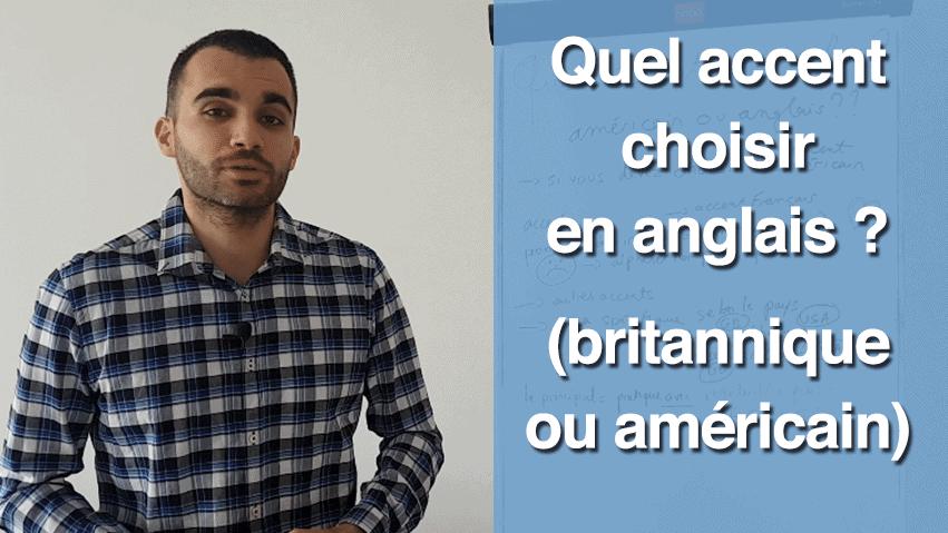 quel accent choisir en anglais
