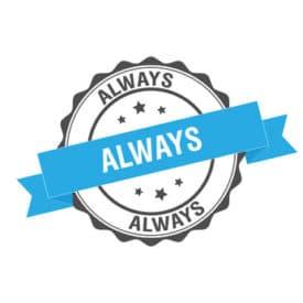 always (toujours)