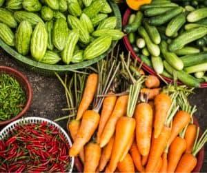 les légumes en anglais