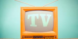 télévision anglais