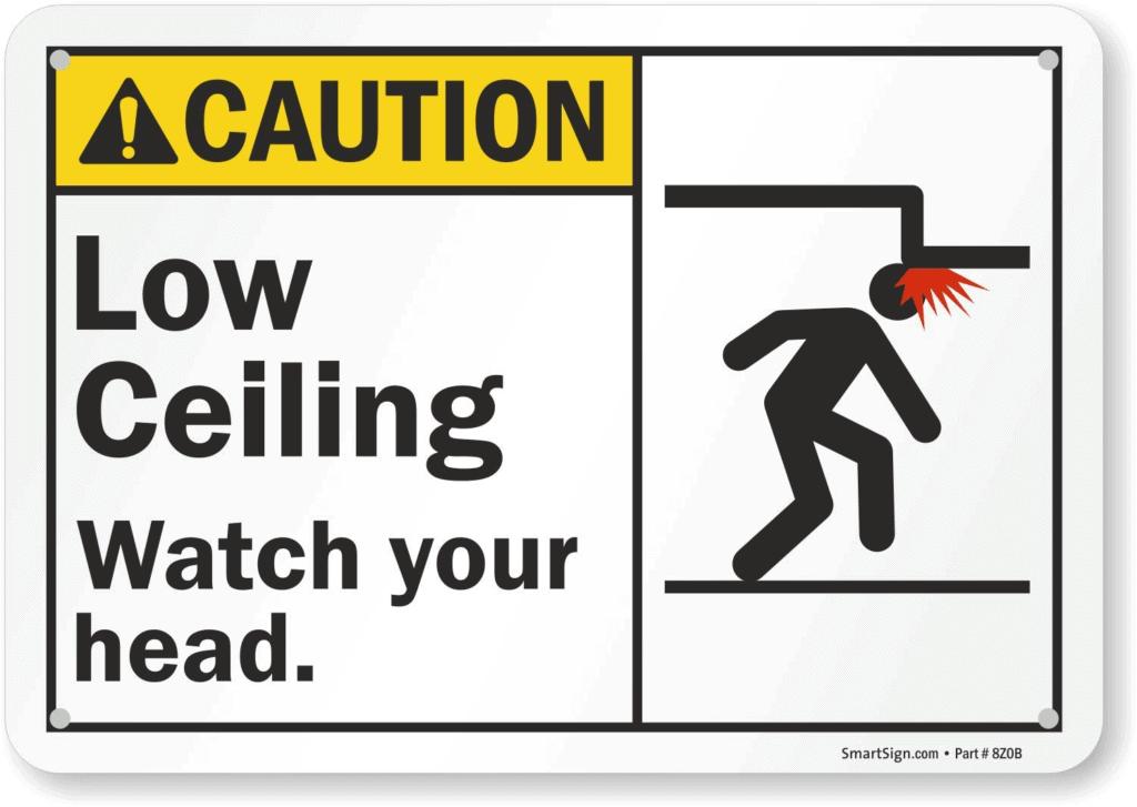 attention à la tête